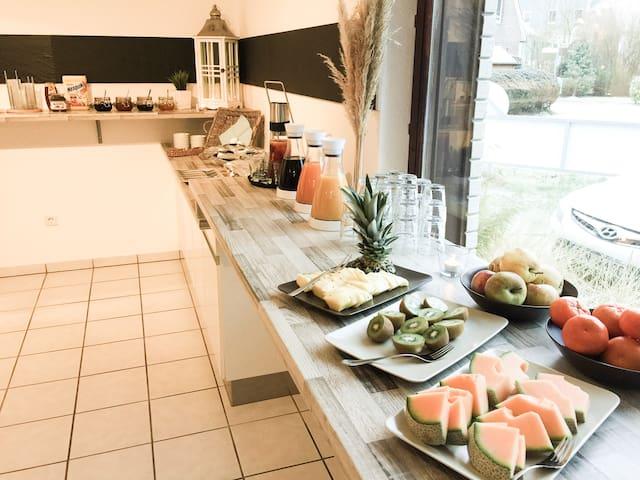 203) Schönes 2er Zimmer, junges Hotel an der Küste - Wangerland - Herberge