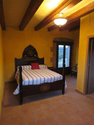 Habitación rural amarilla/ desayuno - L'Aleixar - Σπίτι