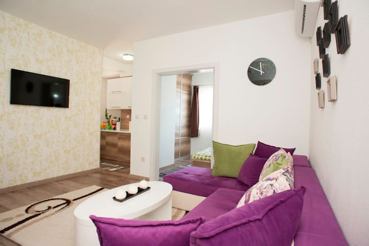 Lux 1-Bedroom Apartment with stunning sea view - Bečići