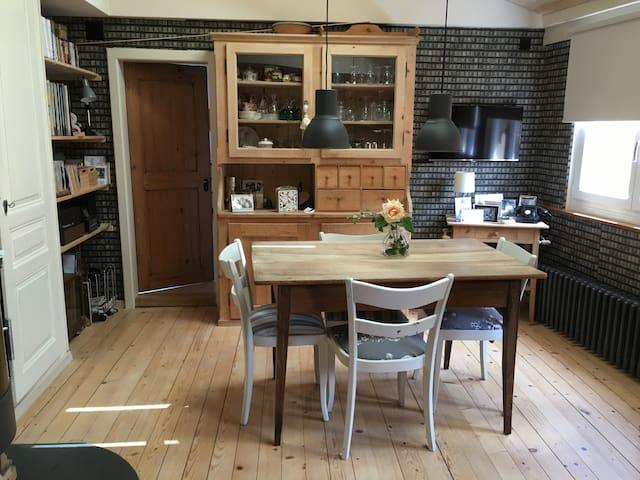 Charming 4 room apartment in winegrower's house - La Neuveville - Leilighet