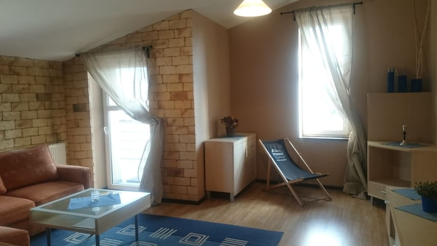 Attic in the very city center - 404 - Katowice - Daire