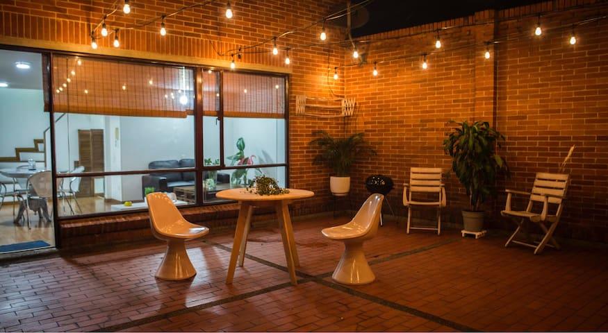 Cozy apartment with a great private terrace! - Bogotá - Apartemen