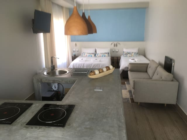 (1) Family Room Sea Wind Self Catering Cottage 1 - Swakopmund - Pension