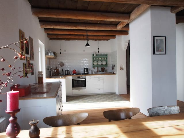 Cosy Flat in an old house - Schwabsoien - Departamento