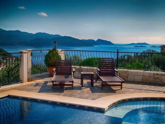 Villa Bakajak - excellent Villa with Private Pool - Kaş - Casa