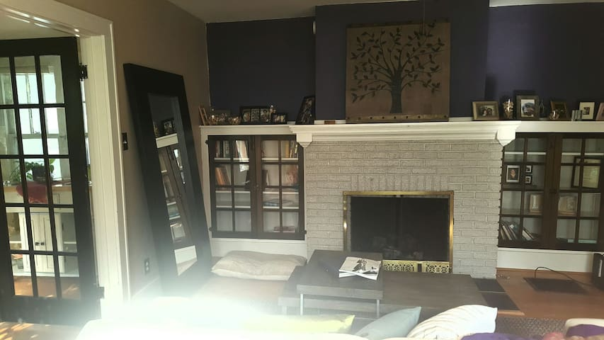 Great space steps from campus - West Lafayette - Rumah