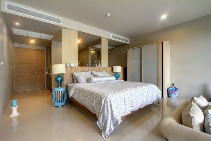 Luxury apartment with POOL access - Karon - Appartement