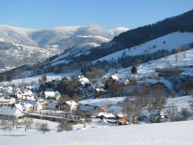 Gites à la Ferme et à la montagne - Mitzach - Huoneisto