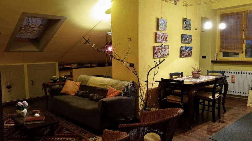 Cozy attic  with all comforts  - Rivoli - Appartement
