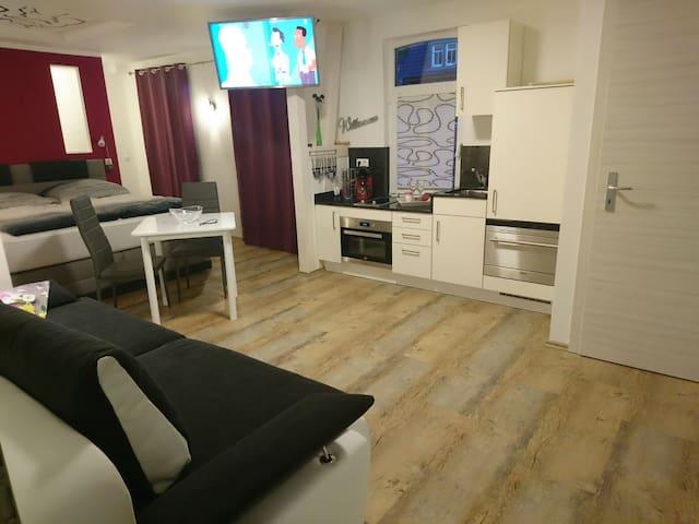 Apartment CHARMANT 34qm in Jena-zentral 2(+2)P. - Jena - Appartement