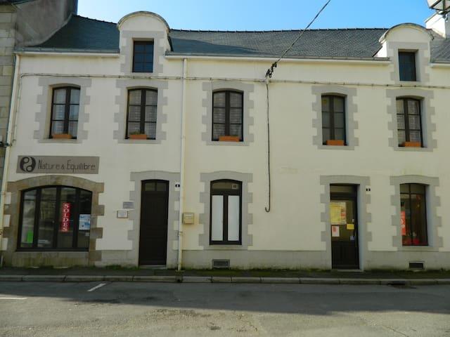 grand appartement en centre ville - La Roche-Bernard - Leilighet