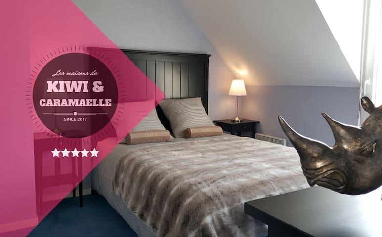 """""""Rhino Room"""" - Les Chambres de Kiwi et Caramaëlle - La Rivière-Saint-Sauveur - Hus"""