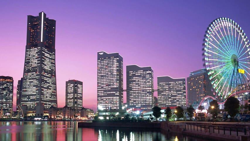 桜木町みなとみらい鎌倉や横浜にアクセス楽々 羽田空港も近い YOKOHAMAハウス - Nishi-ku, Yokohama-shi - Daire