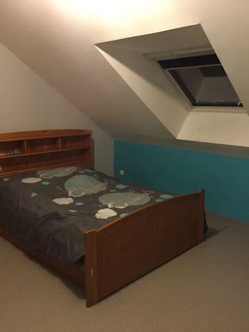 Chambre dans bel appartement - Maubeuge - Wohnung