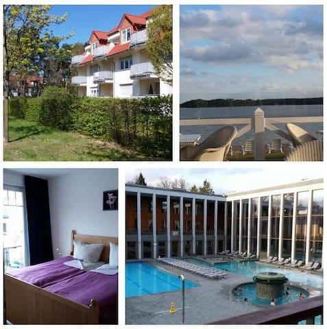 Ferienwohnung 30m bis Saarow Therme - Bad Saarow - Appartement