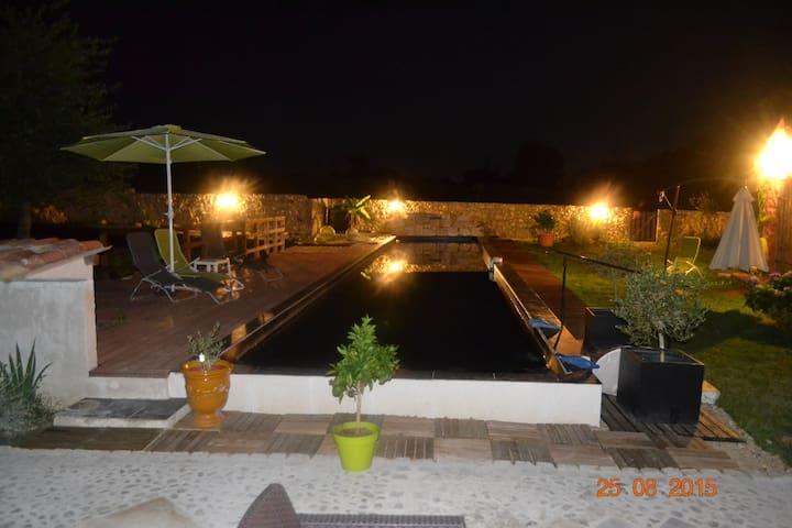 House comfortable quiet - 20m pool - Eugénie-les-Bains - Casa