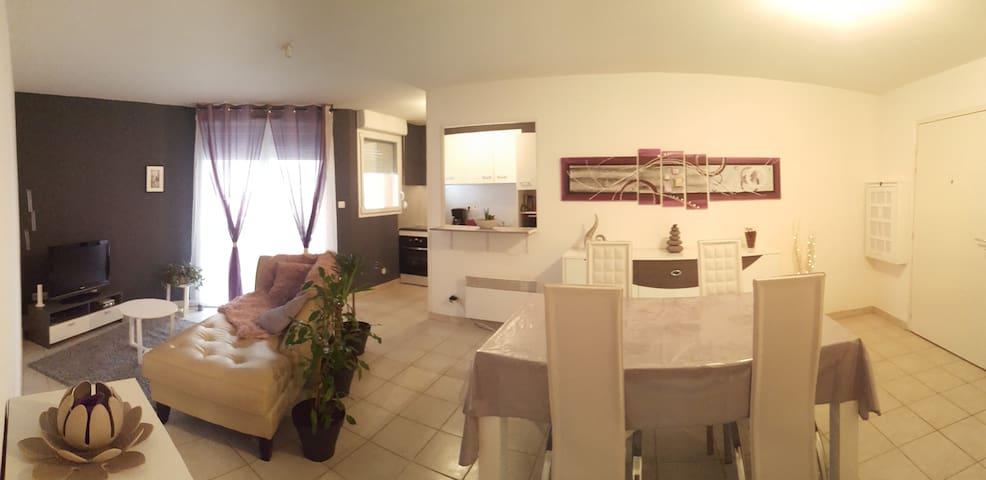Agréable T2 dans le Pays de Montbéliard - Bavans - Apartamento
