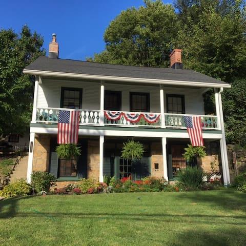 Beautiful Miner's Cottage in a Garden - Galena - Casa