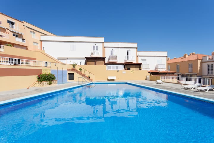 Two terraces pool and beach - Candelaria - Leilighet