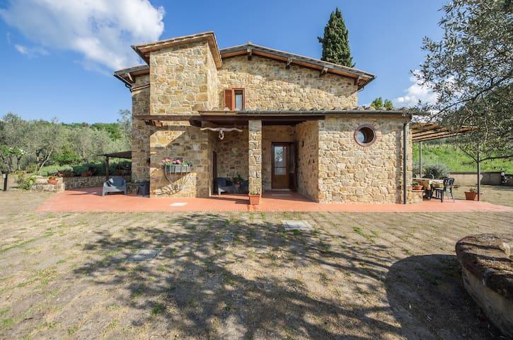 """""""IL GUGNOLO""""  Casale in Val d'Orcia - Castiglione d'Orcia - Casa"""
