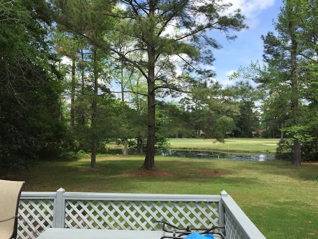 Gorgeous Golf Course View and a Relaxing Home! - New Bern - Huis