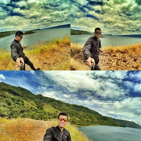 saving travel panorama northernSumatraLakeTobaArea - Tapian Dolok