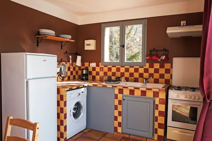 Cottage 4 persons superb lake view - Bauduen - Leilighet