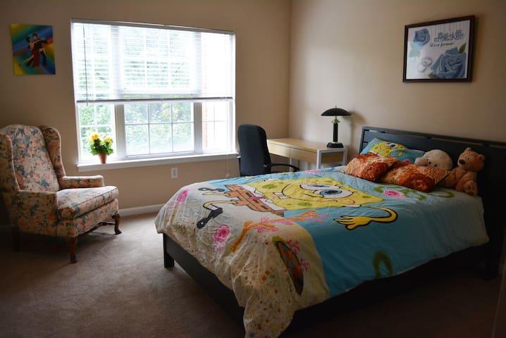 Cozy Master Bedroom & Private Bath - Carmel - Apartemen