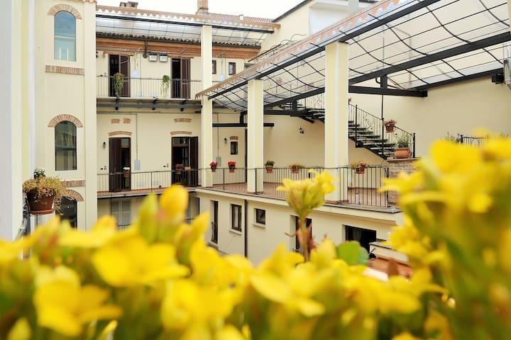 Palazzo Centro - 22 Alloggi Vacanza - Nizza Monferrato - Leilighet