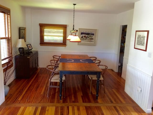 Bright & cozy country house with water access - North Hatley - Casa