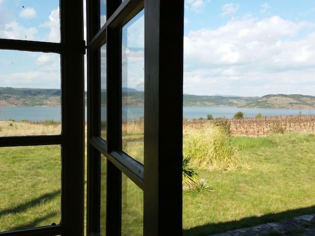 Authentique Mazet face Lac Salagou - Liausson - Hus