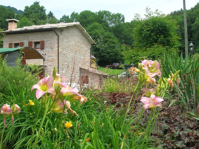 Exclusive location completely surrounded by nature - Erbezzo - Hus