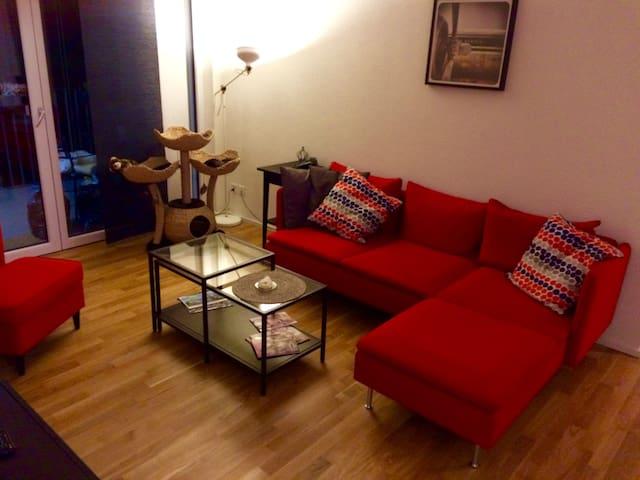 Topmoderne 4.5 Zi-Wohnung, 21 min zum HB Zürich - Lenzburg - Betjent leilighet