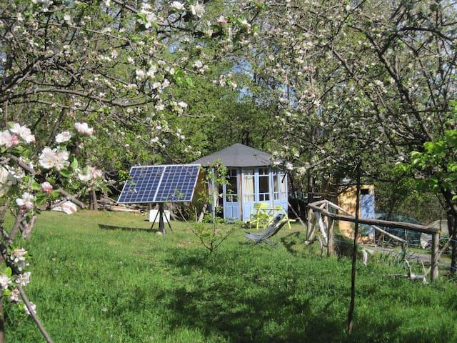 hébergement insolite : kiosque bois - Sahorre - Hytte