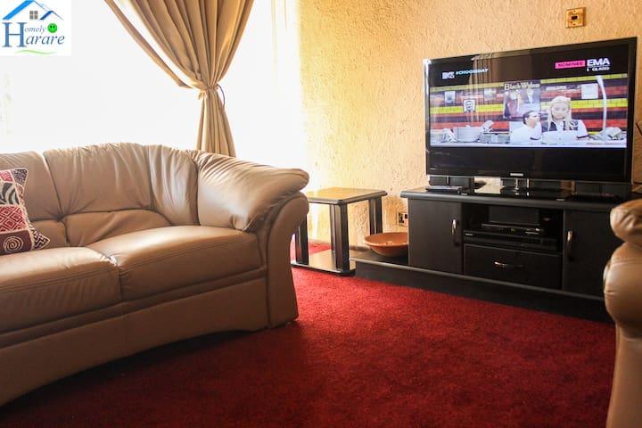 Lolo's 1 Bed Apartment(5min to CBD) - Хараре - Квартира