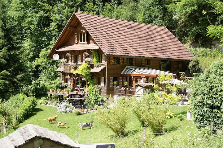 100% nature – yet close to lucerne! - Malters - Pousada