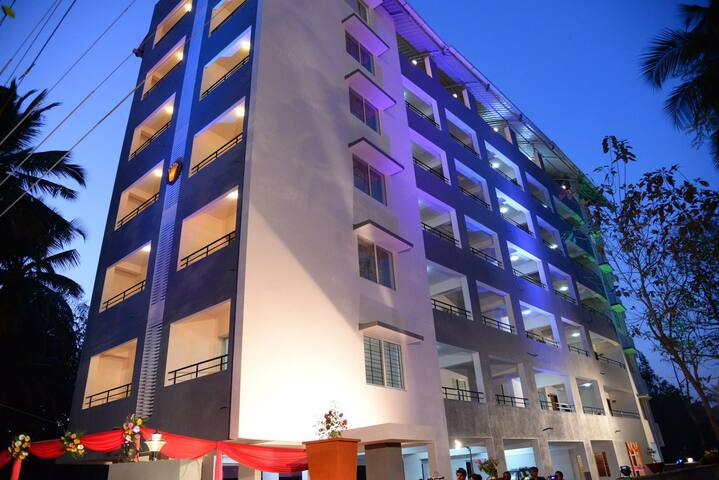 Small Modern 1Bhk Apartment at Kinnigoli - Dakshina Kannada - Lägenhet