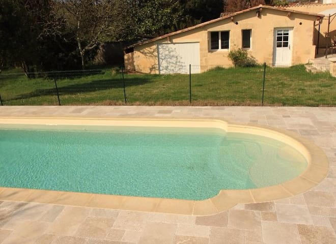 Petite maison charme, sud Bordeaux - Langon - Casa