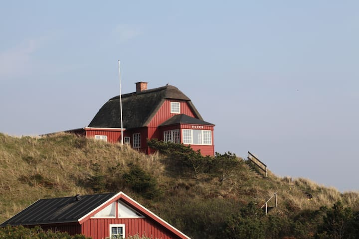Historical West Coast Panorama  - Vejers Strand - House