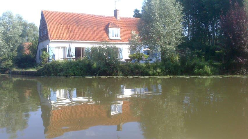 marais mit Pedalo und Boots - Nieurlet - Casa