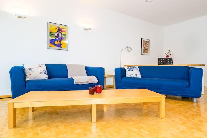 Spacious apartment with large swimming pool - Geisenheim - Apartamento