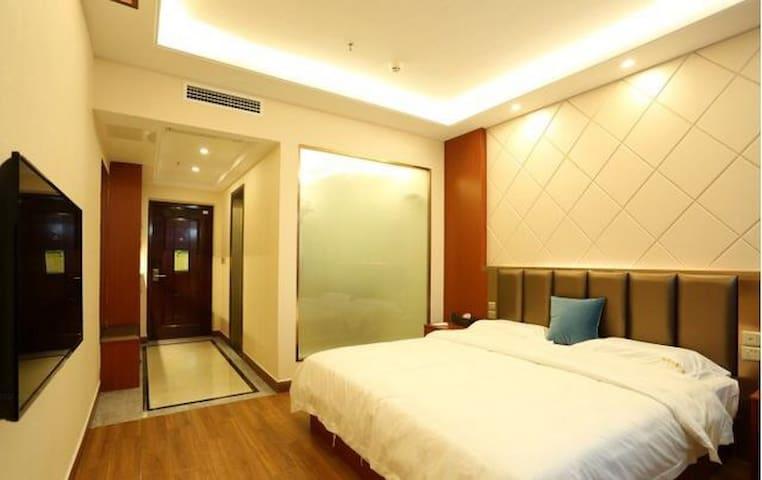 豪华大床房(四星级酒店标准装修) - 长沙 - Condominio