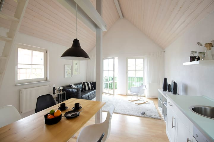 Luxury Private House, Kitchen, Balcony Walk 2 Lake - Bodensee - Rumah