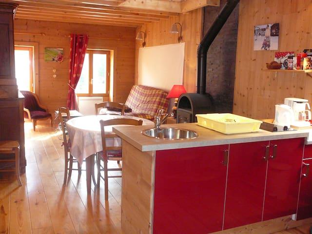 Oliver's moutain flat - Saint-Vital - Leilighet