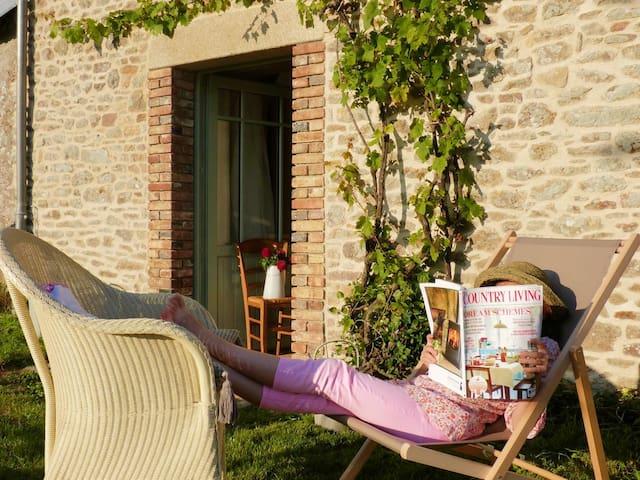 Gîte de charme près de golfe du Morbihan - Plumergat - Дом