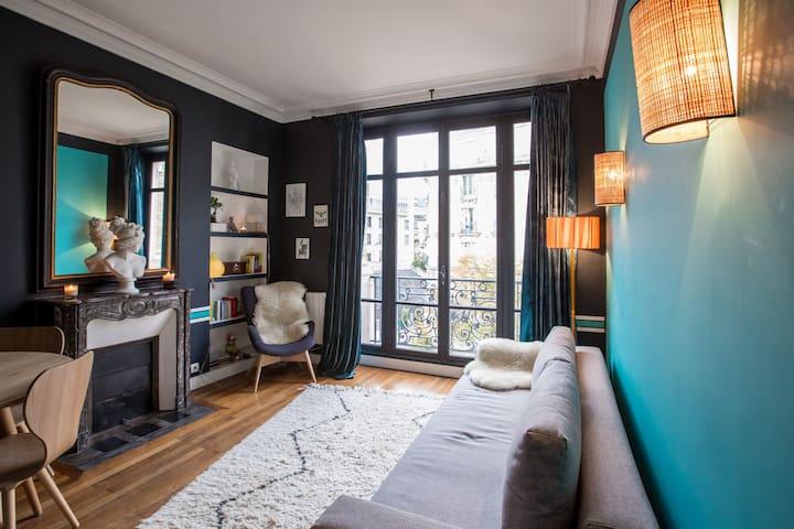 CENTER OF PARIS,BEAUTIFUL FLAT - Paris - Lägenhet
