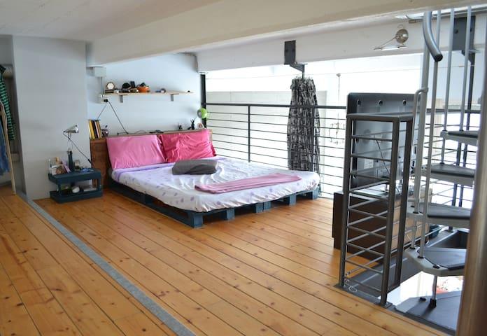 Loft open space con terrazzo panoramico - Turín - Loft