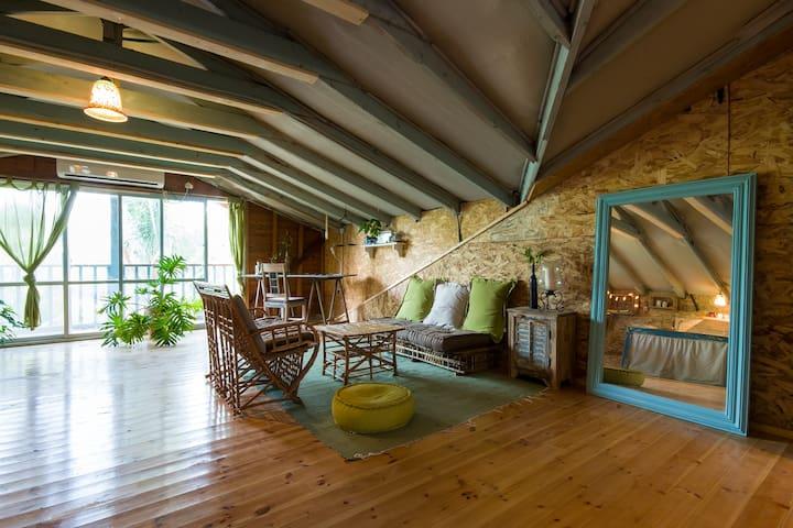 Amazing Roof Top Apartment - Pardes Hanna-Karkur