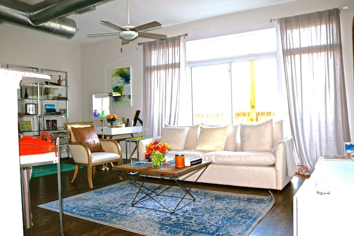 Loft Apt in Southside District-Private Room - Chattanooga - Appartement