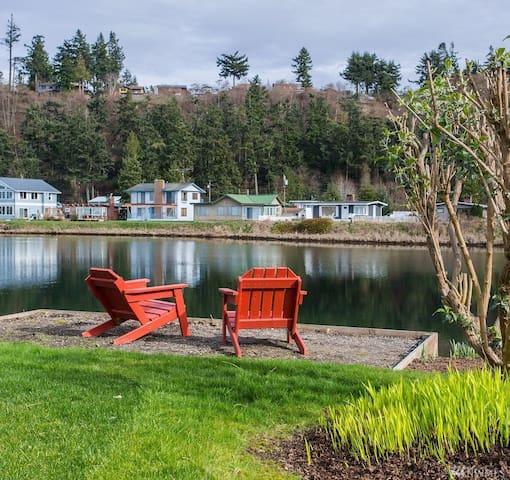 Mermaid Lagoon Guest Cottage, Whidbey Island - Greenbank - Casa de huéspedes